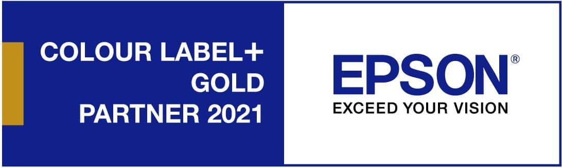 Labeltech ist auch 2021 Epson Gold Partner